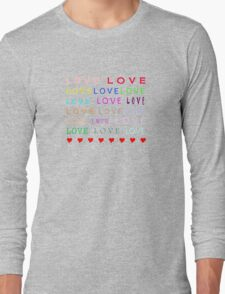 Love - JUSTART © Long Sleeve T-Shirt