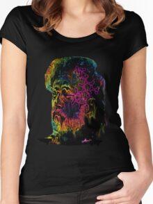 Terrance Mckenna LSD  Women's Fitted Scoop T-Shirt