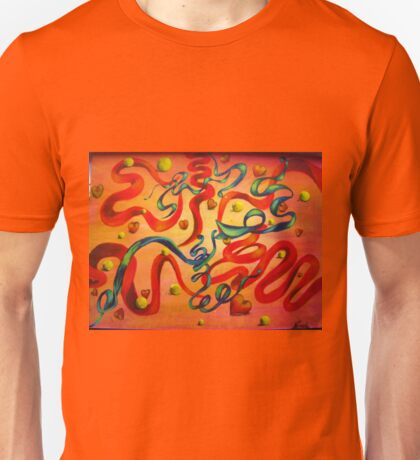 RIBBONS OF LOVE Unisex T-Shirt