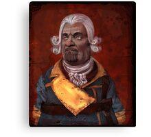 Marcus Kincaid Portrait Canvas Print