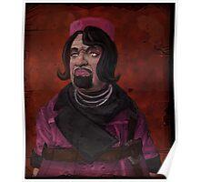Marcus Kincaid Portrait Poster