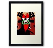 Foolish Samurai Warrior Framed Print