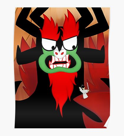 Foolish Samurai Warrior Poster