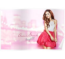 Ariana Grande Autographed Poster Poster