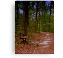 Lonely Canvas Print