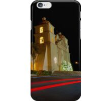 Santa Barbara Old Mission. Christmas 2011 iPhone Case/Skin