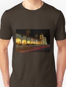 Santa Barbara Old Mission. Christmas 2011 T-Shirt