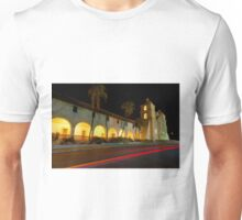 Santa Barbara Old Mission. Christmas 2011 Unisex T-Shirt