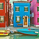 Colorful Burano  by Luisa Fumi