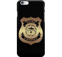 Haven Team Wuornos Gold Police Badge Logo iPhone Case/Skin