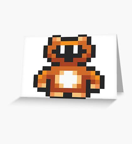 Tanooki Suit Greeting Card