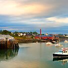 Pier, Boats, Jonesport, Maine by fauselr