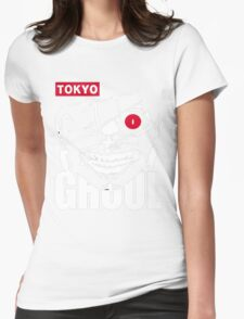 Tokyo Ghoul Kaneki Ghoul Anime Cosplay T Shirt Womens Fitted T-Shirt