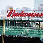 Budweiser Sign Fenway Park, Boston MA by Rebecca Bryson