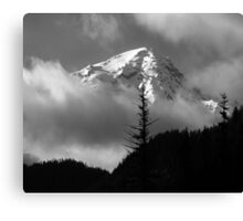 Mount Rainier View from the West Canvas Print