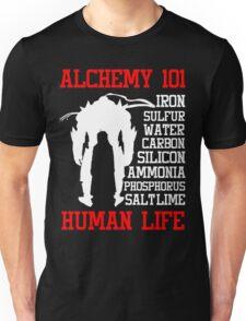 Full Metal Alchemist Brotherhood FMA Alchemy 101 Edward Elric Anime Cosplay T Shirt Unisex T-Shirt