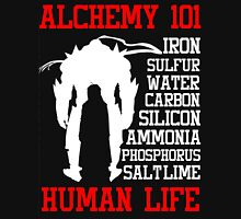Full Metal Alchemist Brotherhood FMA Alchemy 101 Edward Elric Anime Cosplay T Shirt Unisex T-Shirt