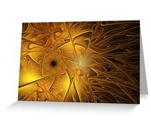 Migration to Chaos Greeting Card