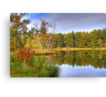 A Great Spot for Fishing Canvas Print