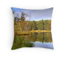 A Great Spot for Fishing Throw Pillow