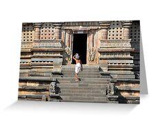 Water for Vishnu Greeting Card