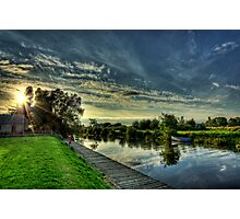 Sunset Jetty Photographic Print