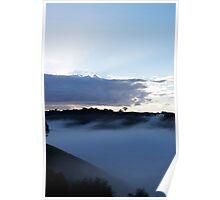 Waving Mist Poster