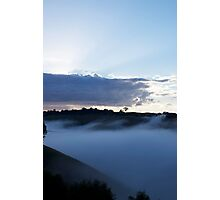 Waving Mist Photographic Print
