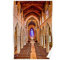 Bryn Athyn Cathedral. Interior. Poster