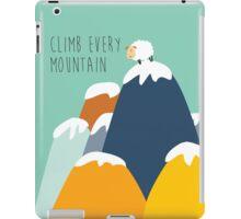 Sound of music - climb every mountain iPad Case/Skin