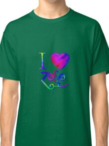 I Love ZoSo Classic T-Shirt