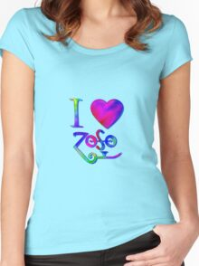 I Love ZoSo Women's Fitted Scoop T-Shirt
