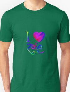I Love ZoSo T-Shirt