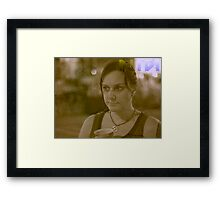 Deep in thought 2 Framed Print