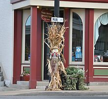 Scarecrow on Main Street by Robert Williams