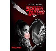 Ariana Grande Scream Queens Promotional Poster September 2015 Photographic Print
