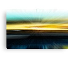 The Beach Abstract - 2  Canvas Print