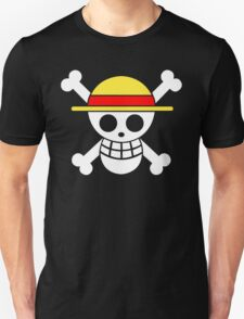 One Piece Monkey D. Luffy Mugiwara Strawhats Pirates Anime Cosplay T Shirt T-Shirt