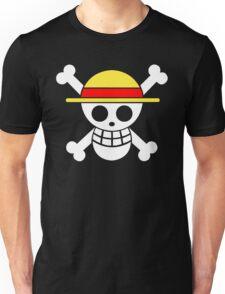 One Piece Monkey D. Luffy Mugiwara Strawhats Pirates Anime Cosplay T Shirt Unisex T-Shirt
