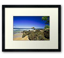 Maui HI, Hamoa Beach Framed Print