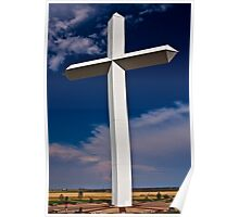 Lagest Cross in the United States Poster