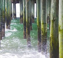 Old Orchard Beach, ME - Under the Pier by quiltmaker
