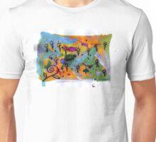 Midnight Garden cycle1 1 Unisex T-Shirt