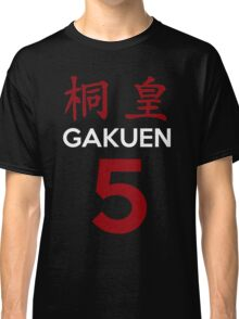 Kuroko No Basket Basuke Gakuen 5 Cosplay Jersey Anime T Shirt Classic T-Shirt