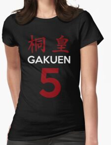 Kuroko No Basket Basuke Gakuen 5 Cosplay Jersey Anime T Shirt Womens Fitted T-Shirt