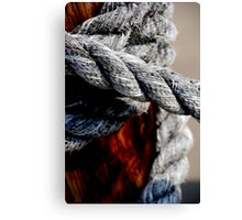 Tied together - for ever? Canvas Print