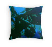 Moonlit Secret Garden Throw Pillow