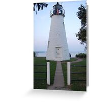 Concord Point Lighthouse - Havre de Grace, MD Greeting Card