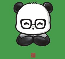 Geek Chic Panda Kids Tee