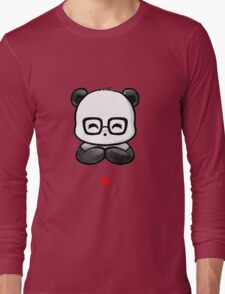 Geek Chic Panda Long Sleeve T-Shirt
